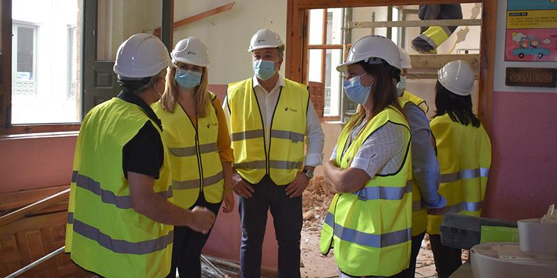 El Gobierno regional acomete obras de adaptación en el Colegio El Carmen de Cuenca por importe de más de 100.000 euros