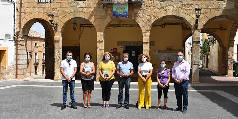 El Gobierno regional ha enviado más de 3.200 elementos de protección al municipio de Buendía durante la crisis sanitaria