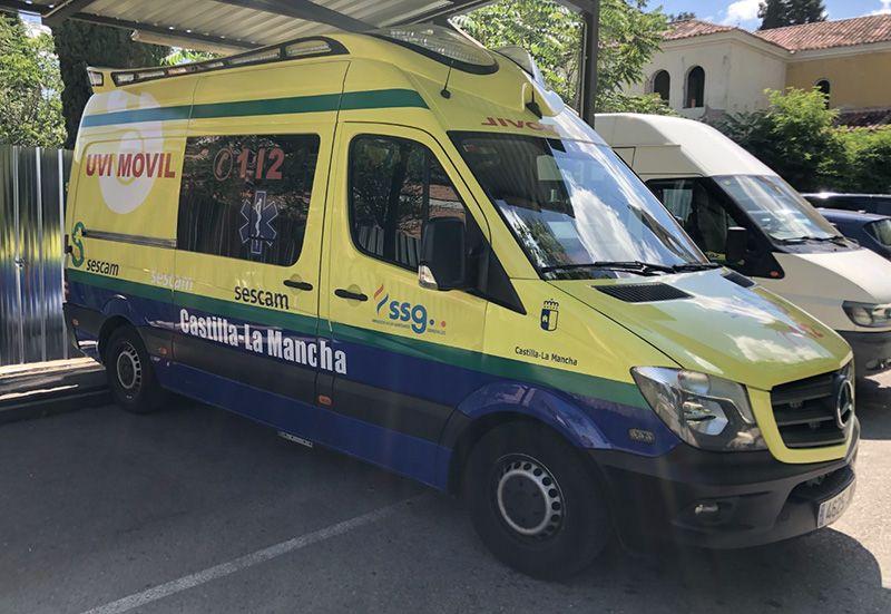 El personal de ambulancias anuncia huelga general para septiembre
