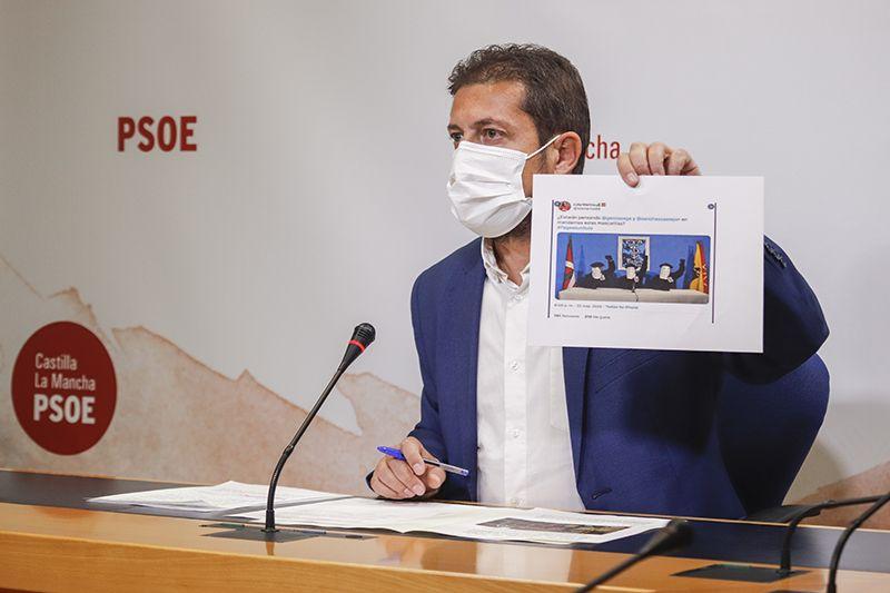 El PSOE pregunta a Núñez si sumará su firma a la carta que va a remitir a Casado y Murcia en defensa del agua para CLM