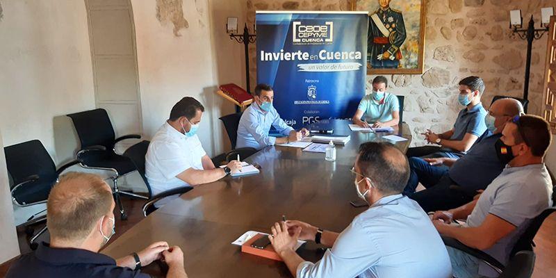 Invierte en Cuenca profundiza en las posibilidades de Iniesta para desarrollar nuevos negocios