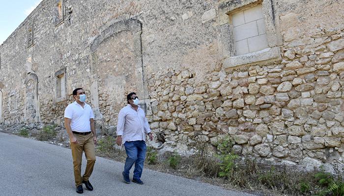 La Diputación de Cuenca invertirá 290.000 euros para completar la rehabilitación de la muralla árabe de Uclés