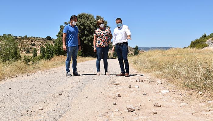 La Diputación de Cuenca tiene un presupuesto de 385.000 euros para actuar en el camino que une Castejón y Cañaveruelas