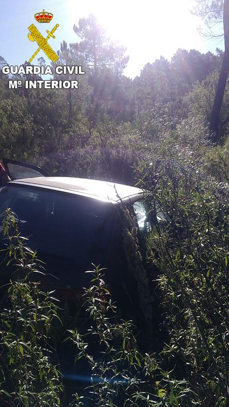 La Guardia Civil se localiza a una persona desaparecida en Garaballa