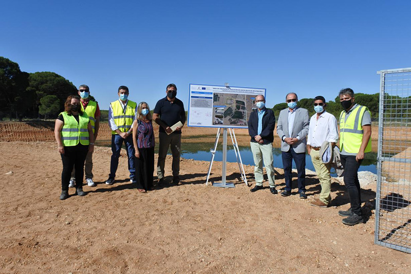 La Junta invierte 182.000 euros en una obra de emergencia para garantizar la depuración de agua en Casas de Haro