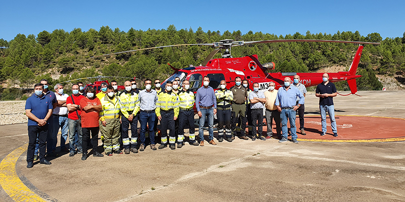 Las hectáreas afectadas por los incendios forestales se han reducido un 72 por ciento en Castilla-La Mancha