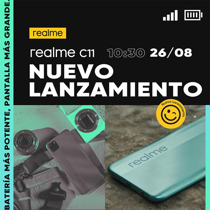 Realme anuncia la llegada a España del realme C11