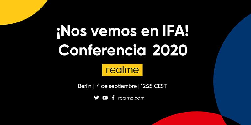 Realme estará en IFA por primera vez para presentar su última estrategia de producto y de marca