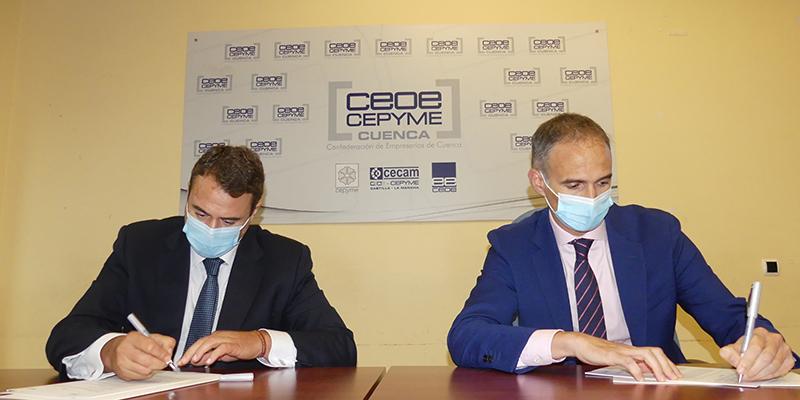 CEOE-Cepyme Cuenca y el Banco Sabadell renuevan su colaboración para apoyar a las empresas