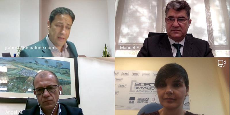 CEOE-Cepyme Cuenca y el Grupo Aspa firman un convenio para reforzar la transformación digital