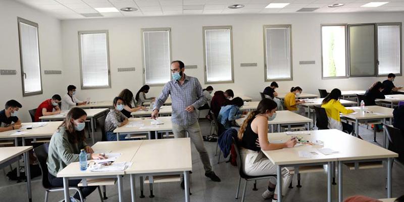 Comienza la EvAU extraordinaria en la Universidad de Castilla-La Mancha con 1.060 matriculados y medidas de seguridad especiales por la COVID-19