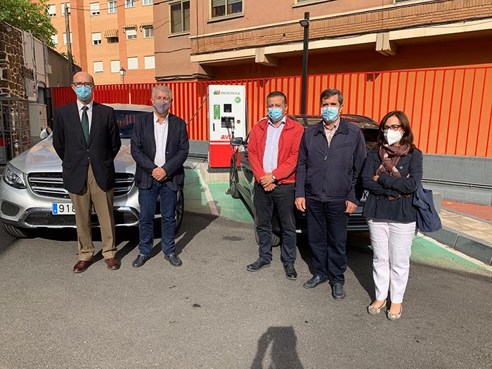 Cuenca capital ya tiene, en las Quinientas, la primera electrolinera