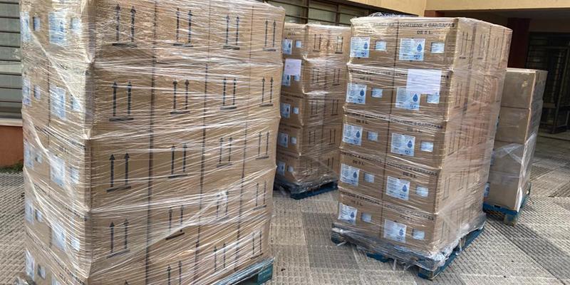 El Gobierno regional ha enviado más de 3.200 elementos de protección al municipio de El Provencio durante la crisis sanitaria