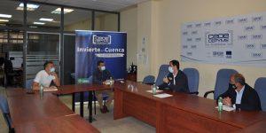 Invierte en Cuenca y el Ayuntamiento de Cuenca estudian las condiciones del polígono SEPES de la capital