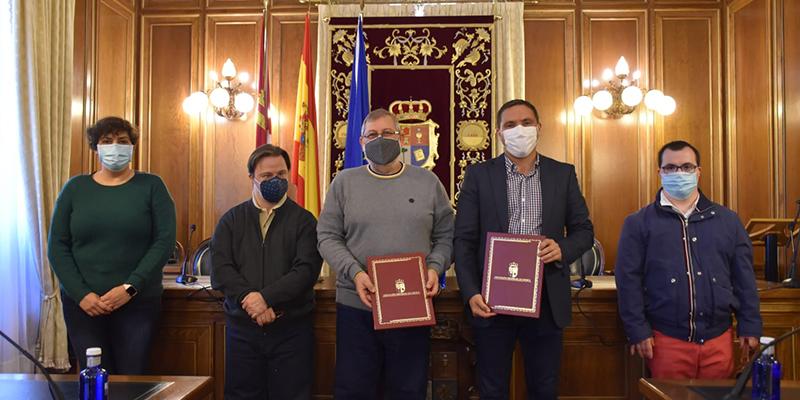 La Diputación de Cuenca renueva el convenio con ADOCU para fomentar la integración de personas con Síndrome de Down