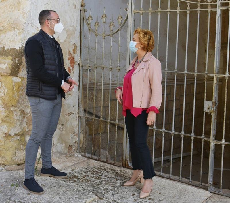 La Diputación de Cuenca y el Obispado inician la rehabilitación de la cubierta de la Iglesia Convento Padres Franciscano siglo XV de San Clemente