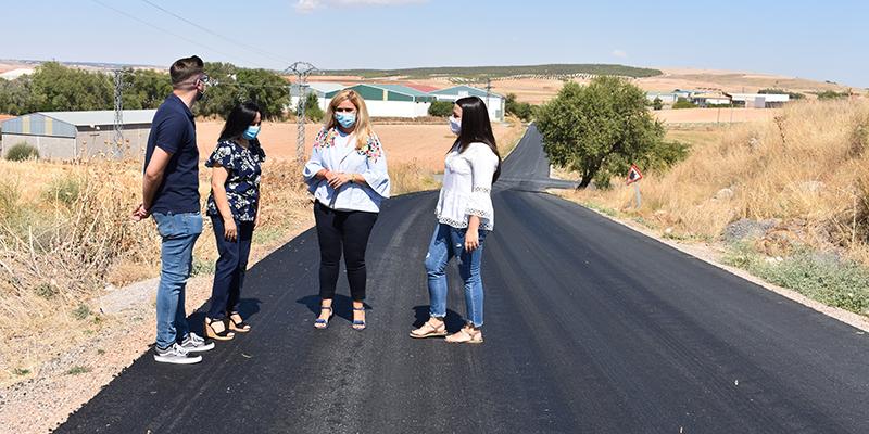 La Junta ha realizado obras de mejora en el vial de circunvalación de Belmonte