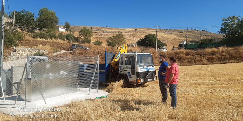 La nueva captación de agua para La Langa ya abastece al pueblo