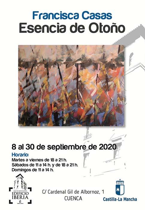 La Sala Iberia acoge la exposición ´Esencia de Otoño´ de la artista Francisca Casas