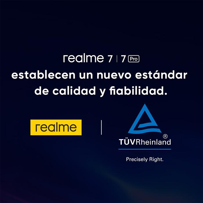 La serie 7 de realme se presentará en España el 7 de octubre