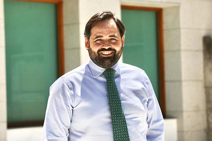Paco Núñez. Presidente PP-CLM