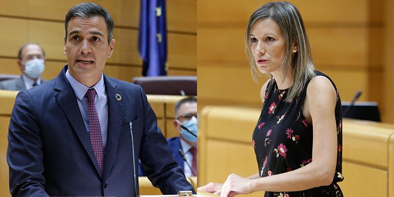 Pedro Sánchez reafirma el acuerdo con Teruel Existe anuncia el impulso de la  A-68 y la A-40 y su compromiso con corredor Cantábrico-Mediterráneo
