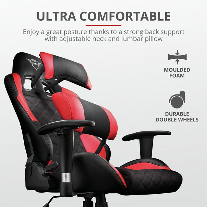 Trust GXT 707 Resto, la silla oficial de 'Top Gamers Academy'
