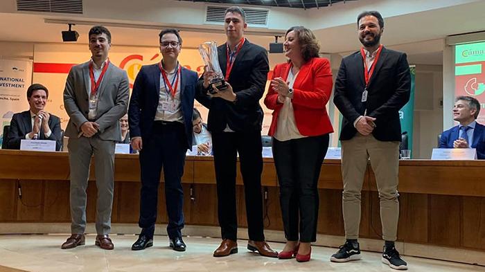 Un equipo de Talavera representará a CLM en la final nacional del concurso Global Management Challenge