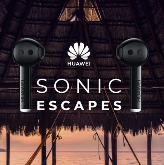 Viajar a través del sonido gracias a Sonic Escapes y HUAWEI Freebuds Pro