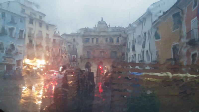 Alerta amarilla en Cuenca por lluvias y rachas de viento de hasta 90 kmhora para las próximas horas