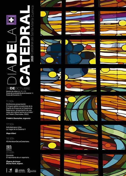 La Catedral de Cuenca celebrará el próximo sábado 24 de octubre el Día de la Catedral 2020 con una jornada de puertas abiertas y magia para niños