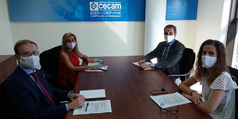 """CECAM elaborará una """"Guía para la implantación de políticas de igualdad en las empresas de Castilla-La Mancha"""""""