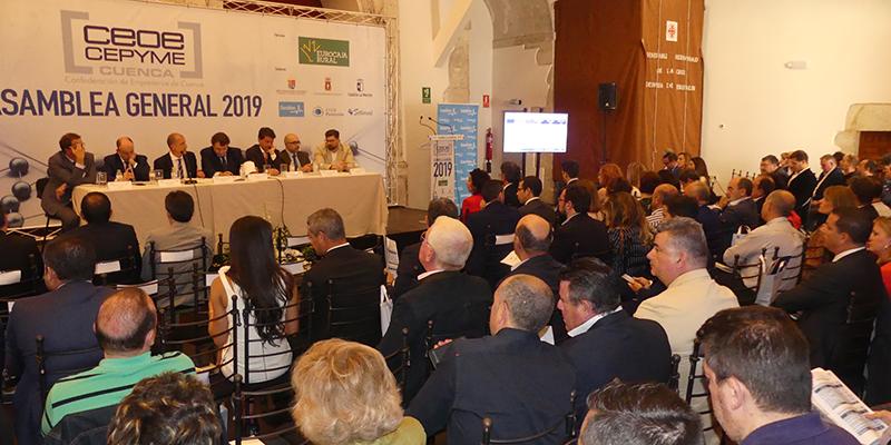 CEOE-Cepyme Cuenca celebra este jueves su Asamblea General que será completamente telemática