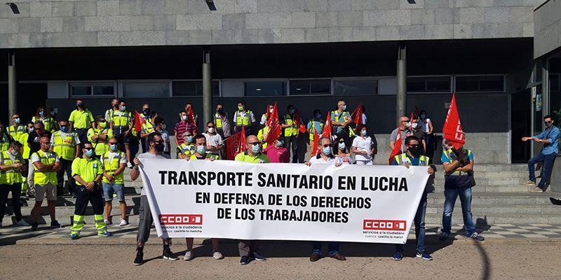 Cuenca afronta a partir del lunes una tercera semana de huelga de ambulancias