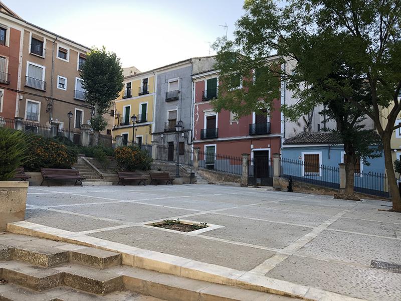 El Ayuntamiento de Cuenca aprueba el proyecto técnico para la finalización del acondicionamiento del Jardinillo de El Salvador