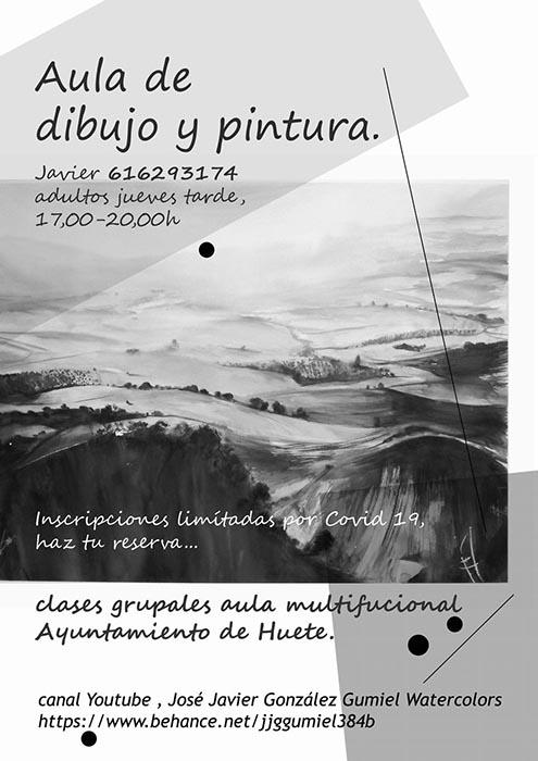El Ayuntamiento de Huete abre el plazo de inscripción para el Aula de Dibujo y Pintura