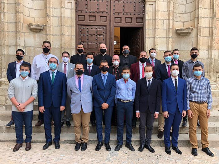 El Curso Académico 2020-2021 en los Seminarios Diocesanos de Cuenca se abre con tres nuevos seminaristas