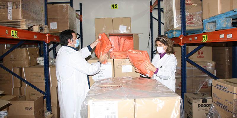 El Gobierno de Castilla-La Mancha ha enviado diez equipos de ventilación mecánica al Hospital Virgen de la Luz de Cuenca