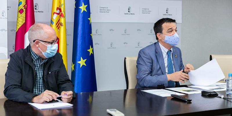 """El Gobierno regional pide unidad en la promoción del queso manchego y trabajar """"juntos"""" para incentivar su consumo en el mercado nacional"""