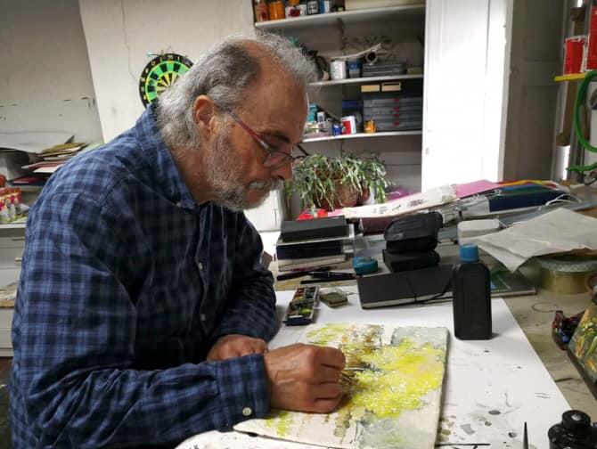 El mundo de la cultura en Cuenca está de luto fallece el pintor Miguel Ángel Moset