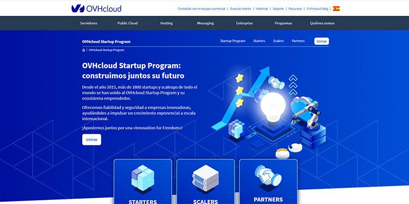 El programa para startups de OVHcloud se amplía a las scaleups en su edición 2020