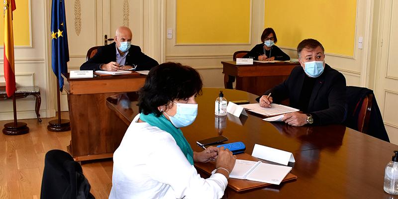 El subdelegado del Gobierno en Cuenca preside la reunión del Centro de Coordinación Operativa Provincial con motivo del covid-19
