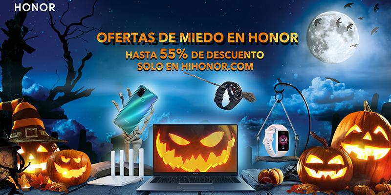 Halloween 2020 en HONOR ofertas 'de miedo' con hasta 55% de descuento
