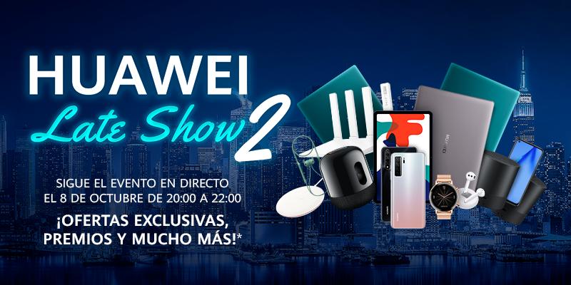 Huawei Late Show celebra su segunda edición en un encuentro virtual donde usuario y producto serán los protagonistas