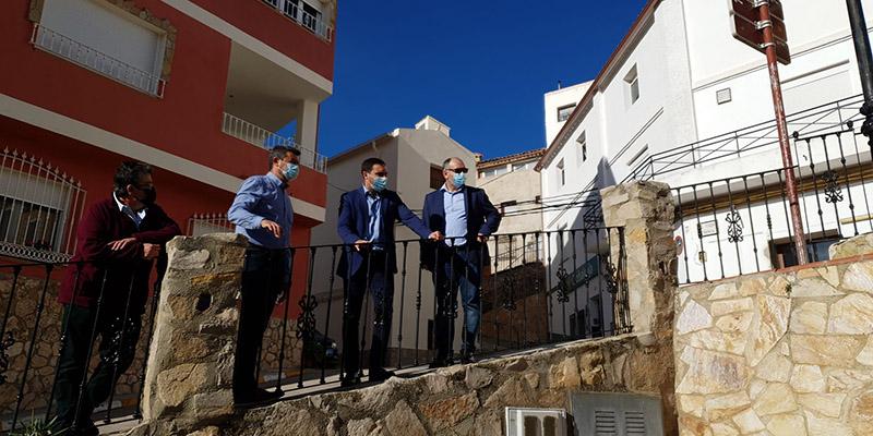 La Diputación de Cuenca invierte 40.000 euros en acondicionar el camino de acceso a la playeta de Víllora