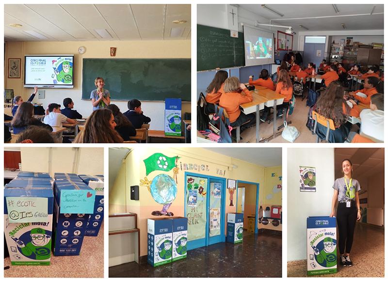 Los CEIP Infanta Cristina y Santa Rita, de El Provencio y Mota del Cuervo, son los ganadores de la campaña de reciclaje 'Otro Final es Posible'