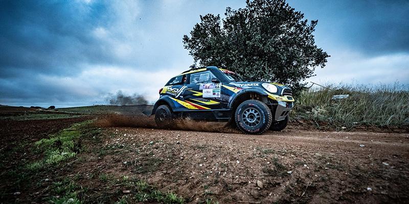 Los portugueses Dinis y Damasio ganan la prólogo del Rallye de Cuenca con su Mini Paceman