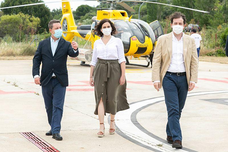 Page mantendrá una reunión de coordinación con los presidentes autonómicos de Castilla y León y Madrid para hacer frente al coronavirus
