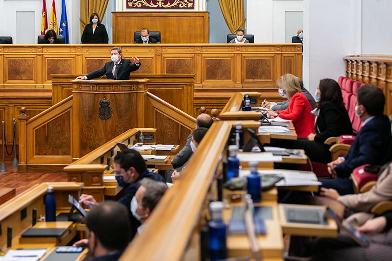 Page pide consenso y diálogo a los partidos en la oposición en los asuntos de interés general para la región como la armonización fiscal o el agua