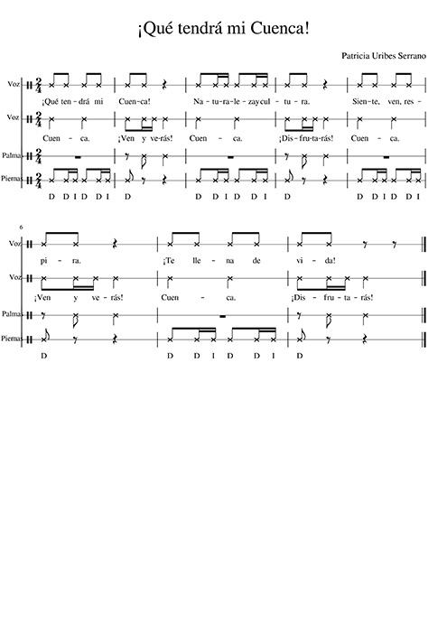 """""""¡Qué tendrá mi Cuenca!"""", propuesta musical para escolares desde la mención en música de la Facultad de Educación de Cuenca"""